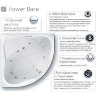 Гидромассажная система Ravak Power Base PB0001