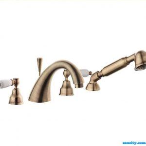 Смеситель для ванной Emmevi DECO ceramica бронза BR121120
