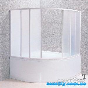 Шторка для ванн RAVAK VDKP4 GENTIANA NEWDAY 140 4DAMF10041