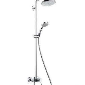 Душевая система Hansgrohe Croma 220 мм Showerpipe 27222000
