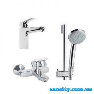 Набор смесителей для ванны 3 в 1 Hansgrohe Logis 71400111